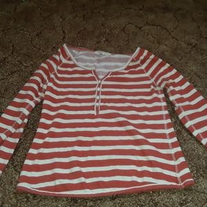 An Old Navy long sleeve shirt